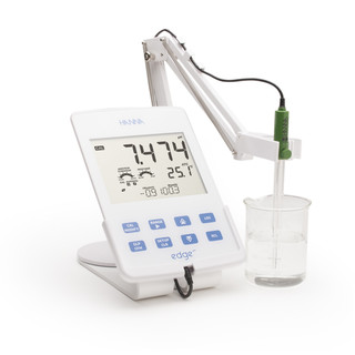 pH-metre de laboratoire  serie edge pH