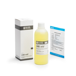 Solution de test redox a 240 mV  bouteille 500 mL
