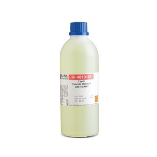 Solution etalon 2 mg/L fluorures au TISAB II  500 mL