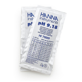 Solution tampon pH 9 18  25 sachets de 20 mL