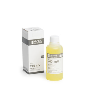 Solution de test redox a 240 mV  bouteille 230 mL