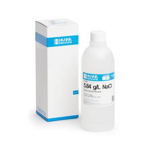 Solution de chlorure de sodium 5 84 g/L  bouteille 500 mL