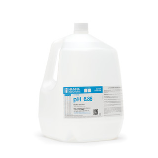 Solution tampon pH 6 86  bouteille 3 78 L