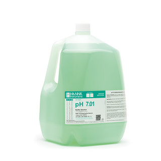 Solution tampon pH 7 01  bouteille 3 78 L