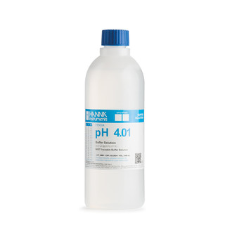 Solution tampon pH 4 01   0 01 pH  certificat d analyse  bouteille 1 L
