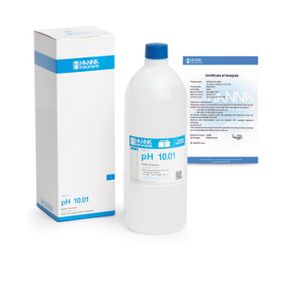 Solution tampon pH 10 01   0 01 pH  certificat d analyse  bouteille 1 L